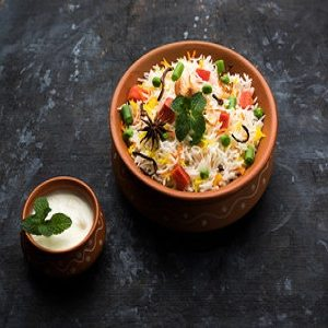 Veg Hyderabadi Biryani